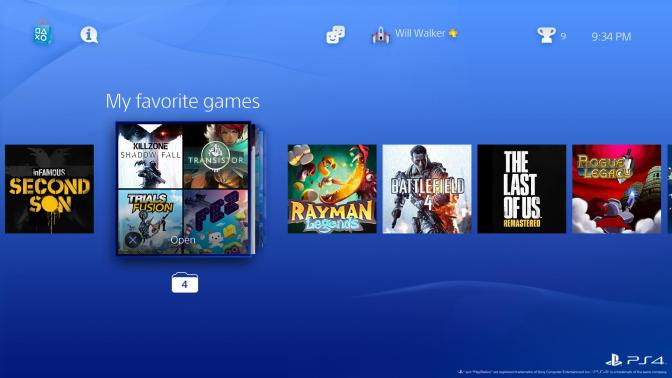 Share-Play kommt mit Firmware 2.0