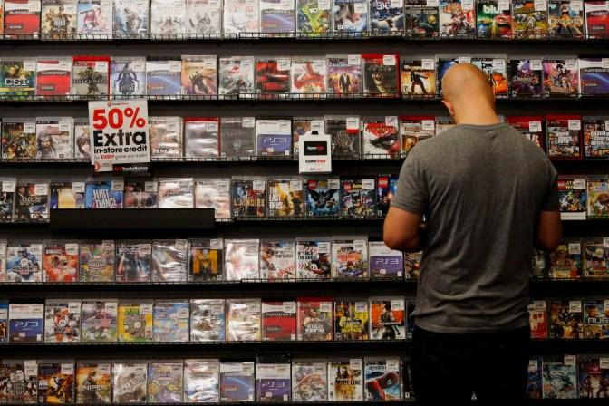 Inside An Electronic Arts Retailer Ahead Of Earnings Figures