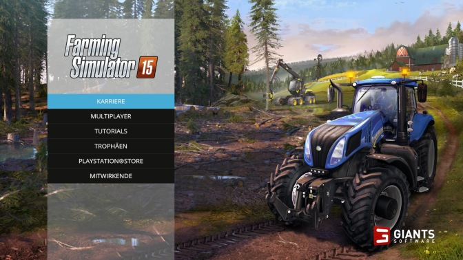 [ LOGITECH G29 ] – Farming Simulator 15