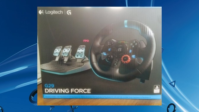 LOGITECH G29 – Only On Playstation