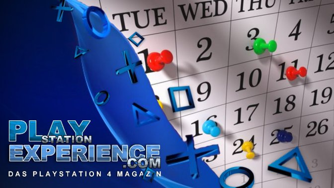 PLAYSTATION 4 – alle Spiele im Januar