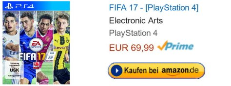 Amazon.de FIFA 17