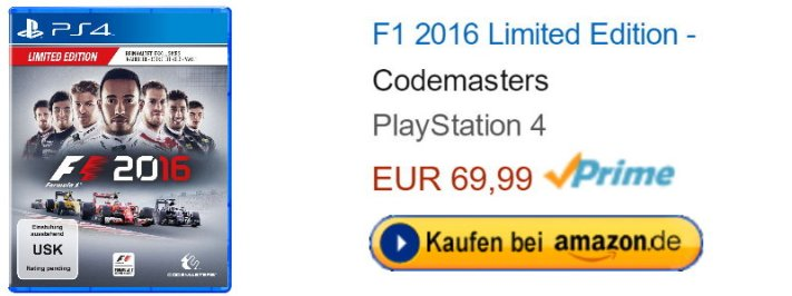 Amazon.de Formel 1Edition