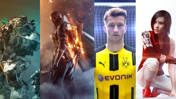 EA - Electronic Arts Spiele 2016