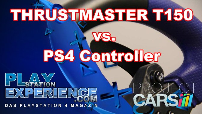 PROJECT CARS – Thrustmaster T150 vs. Controller