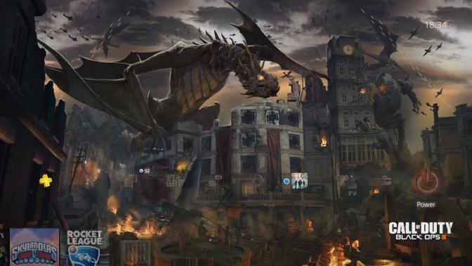 BLACK OPS III – Descent PS4 Theme absofort verfügbar