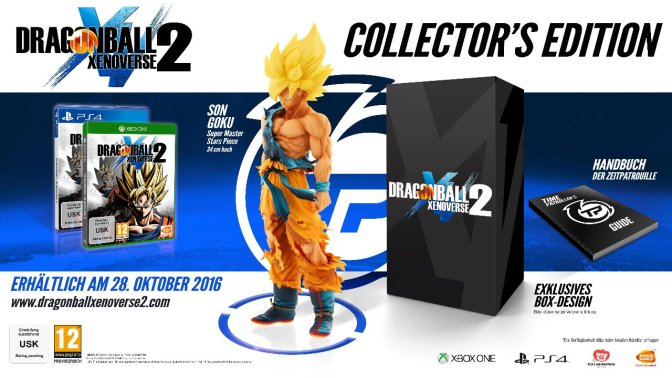 DRAGON BALL Xenoverse 2 – Collector´s Edition kann geordert werden