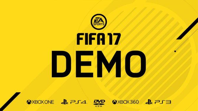 FIFA 17 – DEMO ab morgen im Store