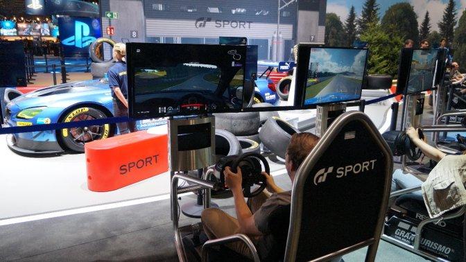 GRAN TURISMO SPORT – angespielt auf der #gamescom