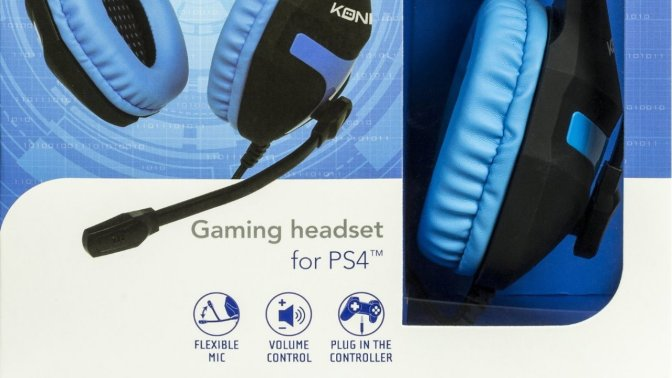 [ TEST ] KONIX Gaming Headset for PS4
