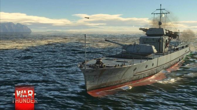 War Thunder - Marine Boote Schiffe1
