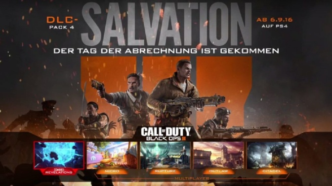 BLACK OPS III – Salvation DLC Pre-Load möglich