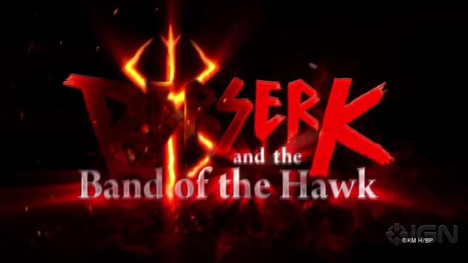 BERSERK AND THE BAND OF THE HAWK – Neuer Trailer veröffentlicht !