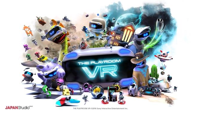 THE PLAYROOM VR – Update 1.02 und neues Spiel verfügbar !