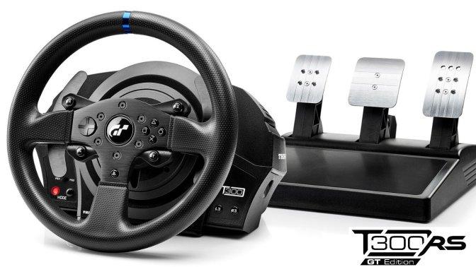 THRUSTMASTER – offizielles Gran Turismo Lenkrad vorgestellt