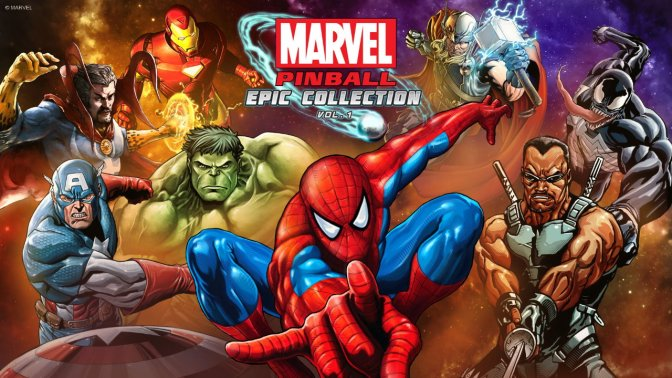 Marvel Pinball Epic Collection – ab sofort erhältlich