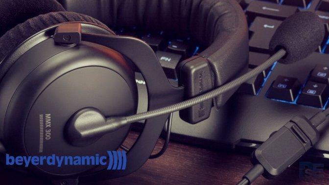 BEYERDYNAMIC – erste Blicke auf das neue PS4 – MMX 300 Headset