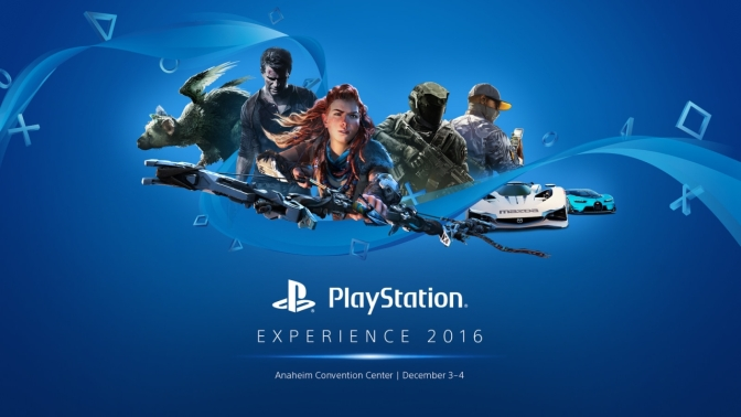 PLAYSTATION  EXPERIENCE 2016  – Ab 19 Uhr im LiveStream