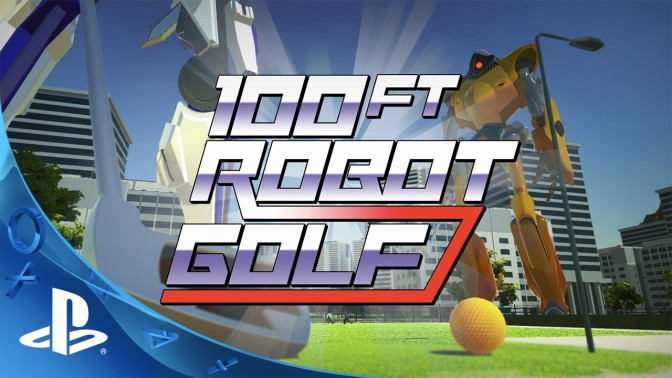 100ft ROBOT GOLF – Patch 1.04 erschienen