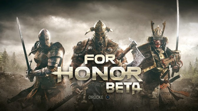 FOR HONOR – offene Beta gestartet