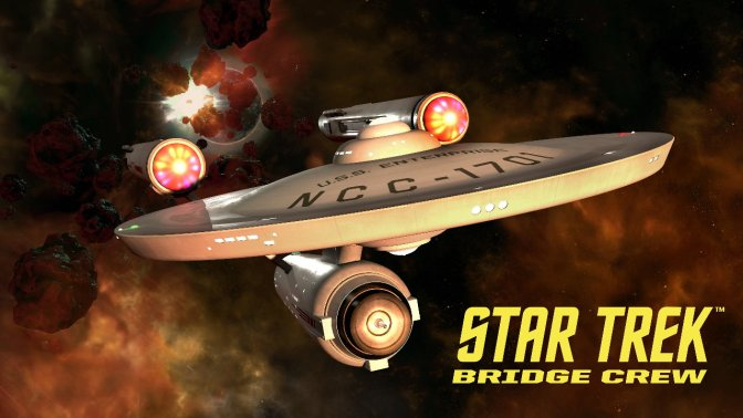 STAR TREK: BRIDGE CREW VR –  kommt mit original U.S.S. Enterprise Brücke