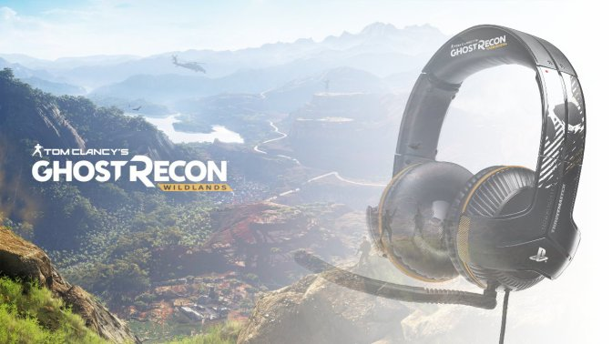 THRUSTMASTER – Tom Clancy´s Ghost Recon Wildlands Headsets angekündigt