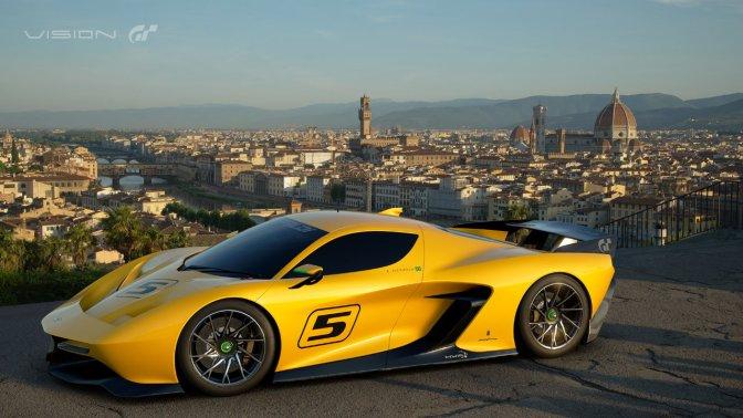GRAN TURISMO – Pininfarina Fittipaldi EF7 auf dem Genfer Auto-Salon enthüllt
