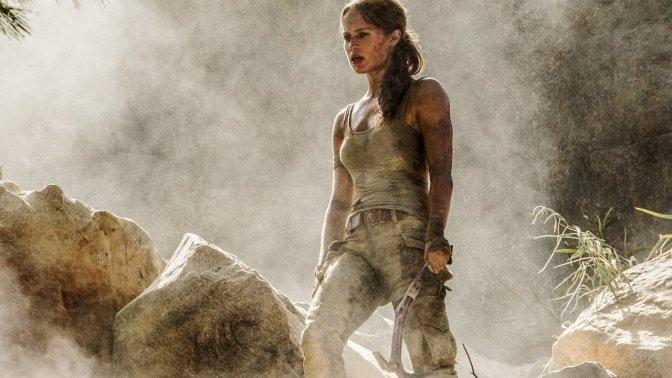 TOMB RAIDER –  Alicia Vikander zeigt sich als Lara Croft