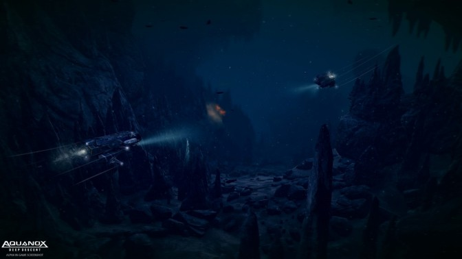 AQUANOX: Deep Descent – weiteres Gameplay aus der Beta