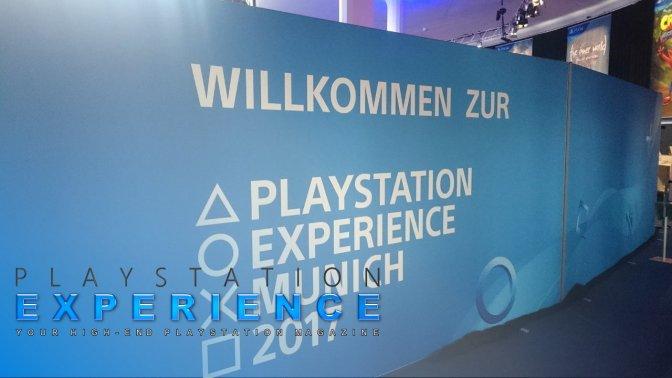Wir auf dem PlayStation Experience 2017 Event in München