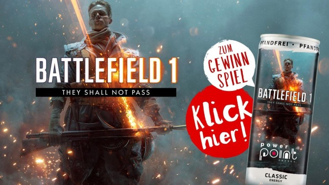 "BATTLEFIELD 1 – They Shall Not Pass ""LIMITED EDITION DOSE"""
