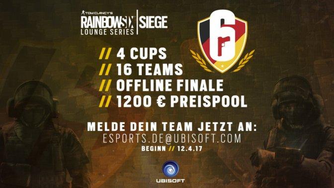 """RAINBOW SIX SIEGE – Ubisoft startet """"Siege Lounge Series"""""""