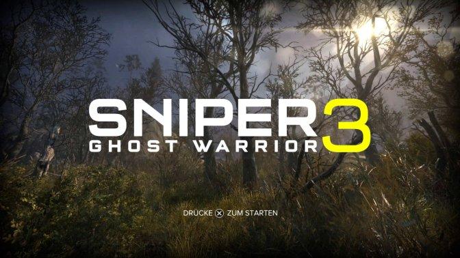 [ TEST ] Sniper Ghost Warrior 3
