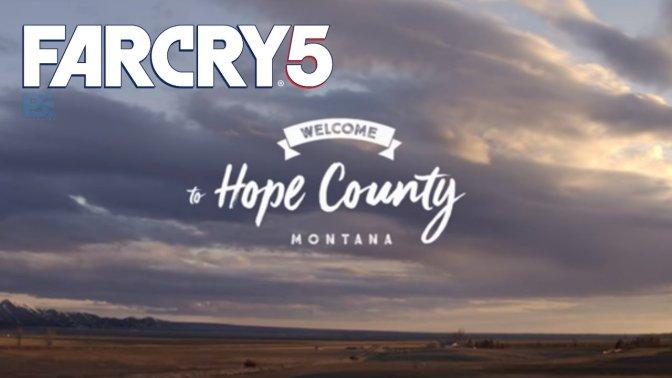 FAR CRY 5 – kostenloses PS4 Theme erschienen