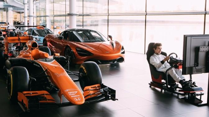 "McLaren und Logitech G kündigen den ultimativen eSport-Wettbewerb ""World's Fastest Gamer"" an"