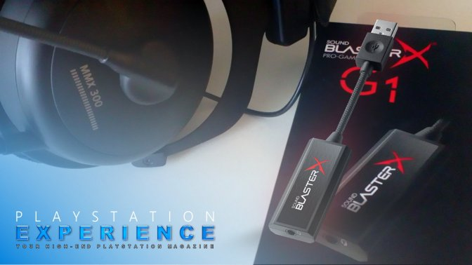 [ TEST ] SoundblasterX G1 – das extra für deinen Sound ?!