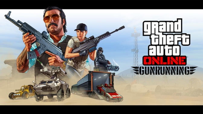 GTA V – Patch 1.24 /1.40 inkl. Gunrunning Update erschienen