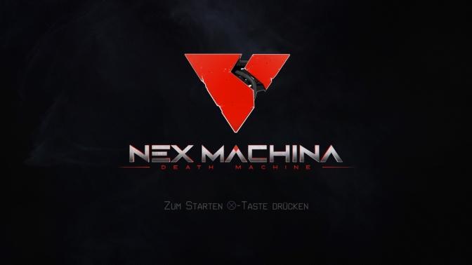 NEX MACHINA – ab sofort mit Patch 1.03 erhältlich