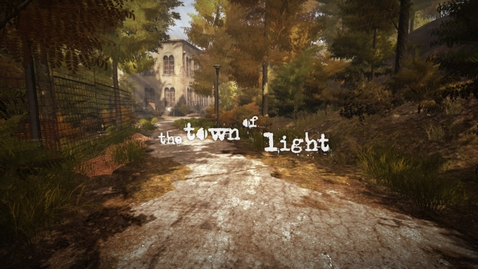 [ TEST ] THE TOWN OF LIGHT