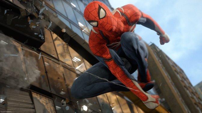 SPIDER-MAN – Umfangreiches Gameplay von der E3