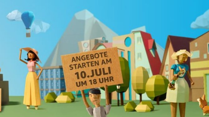 AMAZON PRIME DAY – massig Angebote ab heute