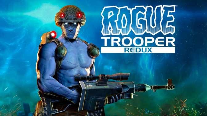 ROGUE TROOPER REDUX – Trailer zeigt Original und Neuauflage im Vergleich