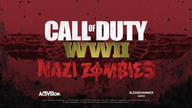 CALL OF DUTY WWII – die Nazi Zombies im offiziellen Trailer