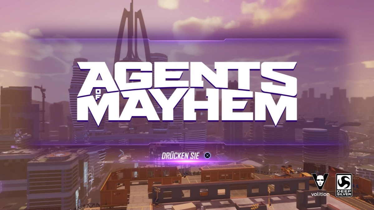 AGENTS OF MAYHEM - Patch 1.02 erschienen