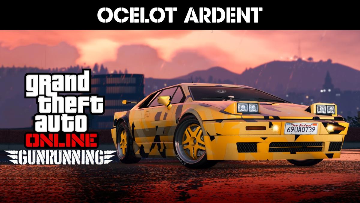 GTA ONLINE - Ocelot Ardent verfügbar, Rabatte auf Bunker und Fahrzeuge