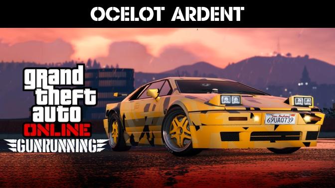 GTA ONLINE – Ocelot Ardent verfügbar, Rabatte auf Bunker und Fahrzeuge