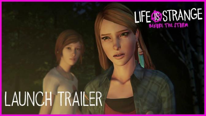 LIFE IS STRANGE: BEFORE THE STORM – Gamescom Launch-Trailer erschienen
