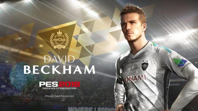 PES 2018 – David Beckham wird PES Legende & neuer Trailer